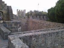 Château de Lisbonne images libres de droits