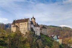 Château de Loket, République Tchèque Photographie stock libre de droits