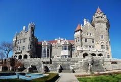 Château de Loma de maison à Toronto, Canada photographie stock