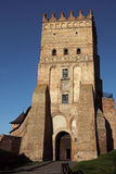 Château de Lubert dans Lutsk Image libre de droits