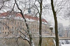 Château de Lubomirski dans Rzeszow, Pologne photos stock