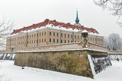 Château de Lubomirski dans Rzeszow, Pologne images libres de droits
