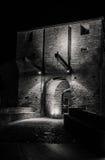 Château de Malatesta de Mondaino (Rimini) Photo stock