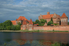 Château de Malbork, Pologne Image stock