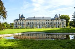 The Château de Malmaison. Near Paris, formerly the reence of Empress Joséphine de Beauharnais stock images