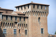 Château de Mantova - Italie - Image stock