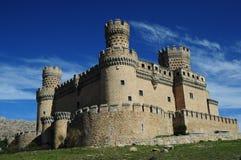 Château de Manzanares Photographie stock libre de droits