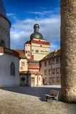 Château de Marienberg à Wurtzbourg image stock