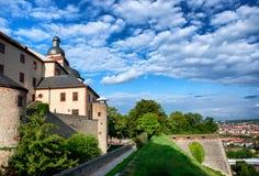 Château de Marienberg à Wurtzbourg, Allemagne images stock