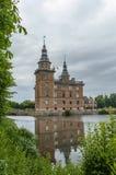 Château de Marsvinsholm dans le skane Suède Image libre de droits