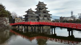 Château de Matsumoto Images libres de droits