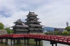 Château de Matsumoto photos libres de droits
