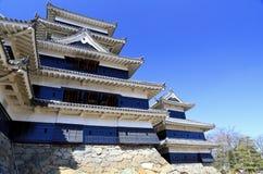 Château de Matsumoto, Japon Photos stock