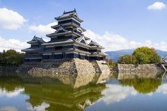 Château de Matsumoto Japon Photographie stock libre de droits