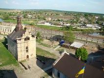 Château de Medzhybizh dans l'ouest de l'Ukraine Image libre de droits