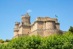 Château de Mendoza Photographie stock libre de droits
