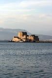 Château de mer de Bourtzi Images stock