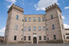 Château de Mesola. l'Emilia-romagna. l'Italie. images libres de droits