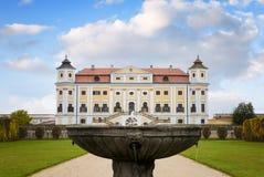 Château de Milotice dans le Moravian du sud dans la République Tchèque photo libre de droits