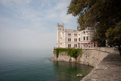 Château de Miramare Images stock