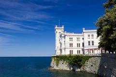 Château de Miramare Photographie stock