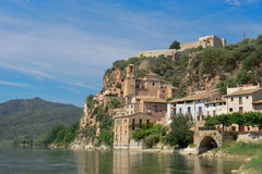 Château de Miravet, Espagne photos libres de droits