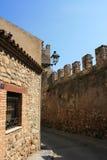 Château de Montblanc Photo libre de droits