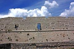 Château de Monte Sant'Angelo, Italie du sud Photos stock