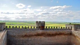 Château de Montealegre de Campos, Valladolid, Espagne images libres de droits