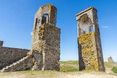 Château de Montemor o Novo, l'Alentejo, Portugal Photographie stock libre de droits