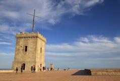 Château de Montjuic, Barcelone, Catalogne, Espagne Photographie stock libre de droits