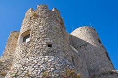 Château de Morano Calabro La Calabre l'Italie photo stock