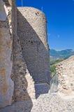 Château de Morano Calabro La Calabre l'Italie images libres de droits
