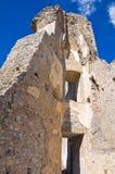 Château de Morano Calabro La Calabre l'Italie Photographie stock libre de droits