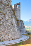 Château de Morano Calabro La Calabre l'Italie photos libres de droits