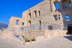 Château de Morano Calabro La Calabre l'Italie Image stock