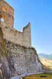 Château de Morano Calabro La Calabre l'Italie Image libre de droits