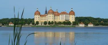 Château de Moritzburg près de Dresde images libres de droits