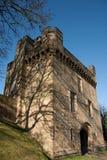 Château de Morpeth, le Northumberland, Angleterre Photos stock