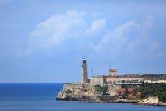 Château de Morro au Cuba Images libres de droits