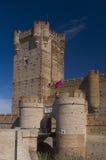 Château de Mota de La, Valladolid. Château Image libre de droits