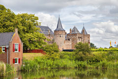 Château de Muiderslot, Muiden, Pays-Bas Photographie stock libre de droits