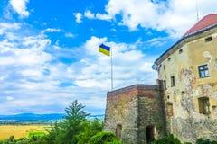 Château 03 de Mukachevo Palanok image libre de droits