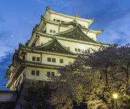 Château 7 de Nagoya Photos stock