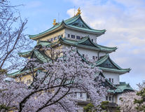 Château 3 de Nagoya Image stock