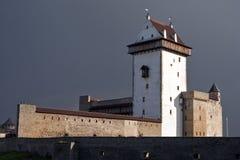 Château de Narva Herman. photographie stock libre de droits