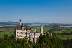 Château de Neuschwanstein Photos stock