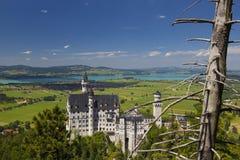 Château de Neuschwanstein - Allemagne Images stock