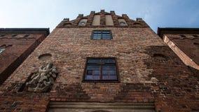 Château de Nidzica en Pologne Photo libre de droits