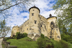 Château de Niedzica Photo stock